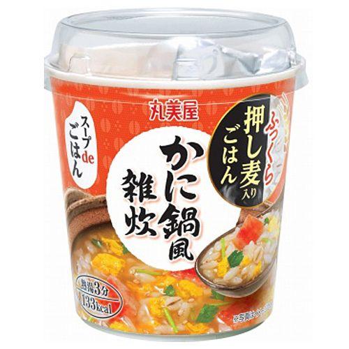 丸美屋 スープdeごはん かに鍋風雑炊 69g