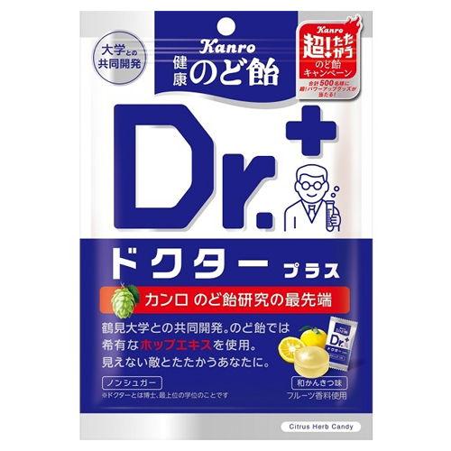 カンロ 健康のど飴 ドクタープラス 50g