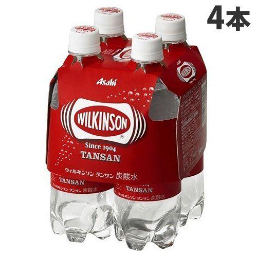 アサヒ飲料 ウィルキンソンタンサン マルチパック 500ml×4本
