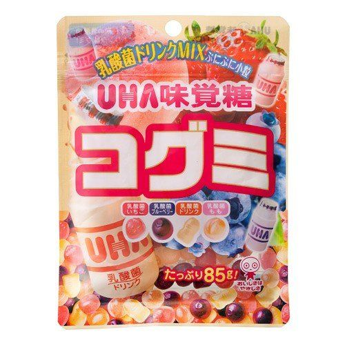 UHA味覚糖 コグミ 乳酸菌ドリンクMix 85g