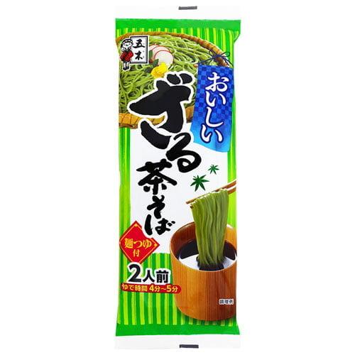 五木食品 おいしいざる茶そば 160g