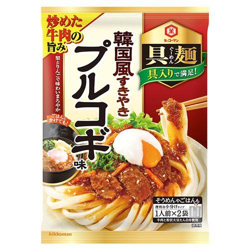 キッコーマン 具麺 韓国風すきやき プルコギ味 116g