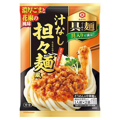 キッコーマン 具麺 汁なし坦々麺風 116g