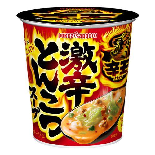 ポッカサッポロ 辛王 激辛とんこつスープカップ 18.9g