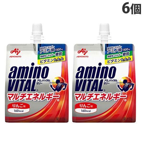 味の素 アミノバイタルR ゼリードリンク マルチエネルギーR 180g×6個