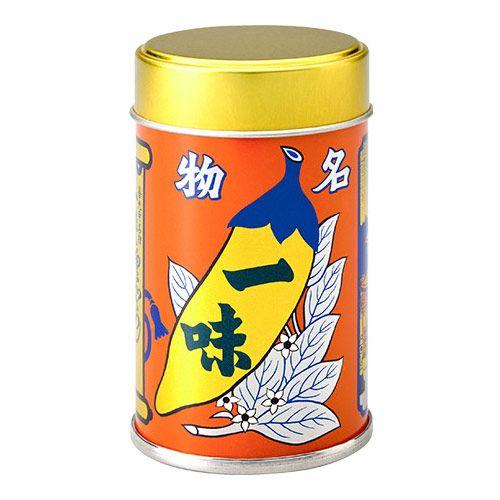 八幡屋磯五郎 一味唐からし 缶 12g