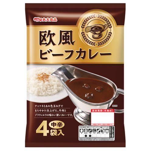 丸大食品 レトルトカレー 欧風ビーフカレー 170g(4食入)