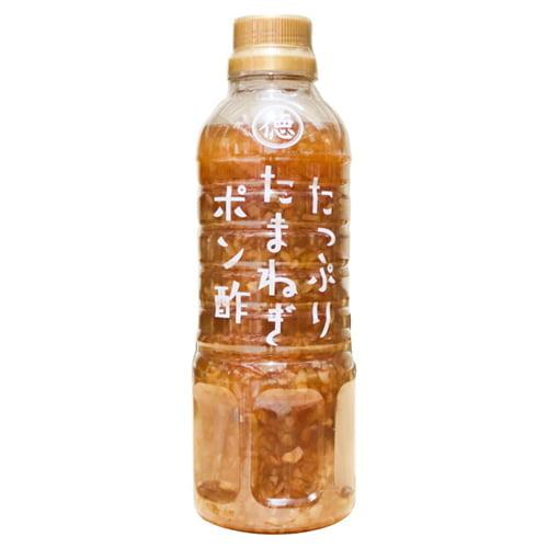 徳島産業 たっぷりたまねぎポン酢 400ml