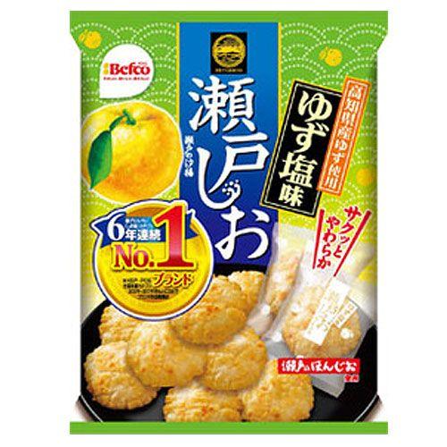 栗山米菓 瀬戸の汐揚 ゆず塩味 88g