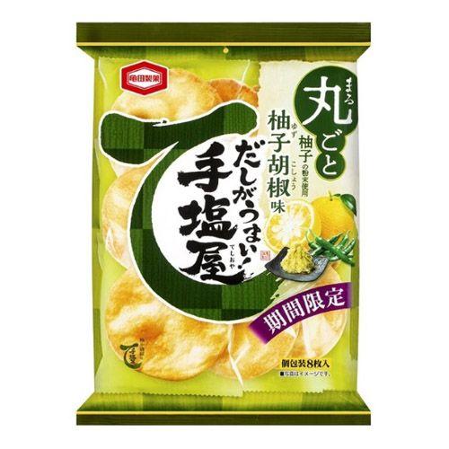亀田製菓 手塩屋 柚子胡椒 8枚入