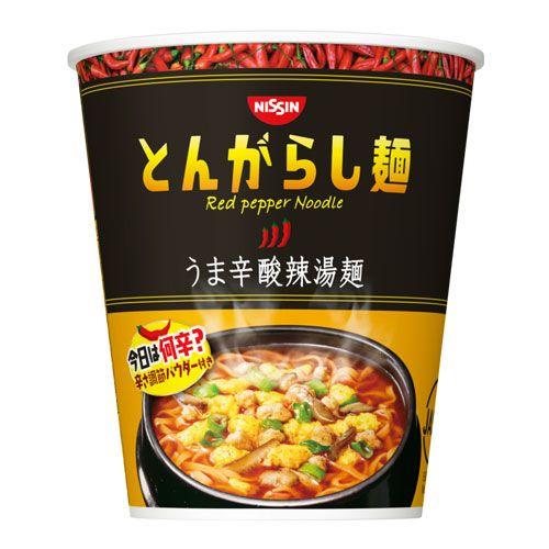 日清食品 とんがらし麺 うま辛酸辣湯麺 64g