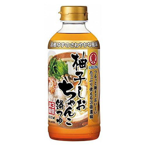 ヒガシマル 柚子しおちゃんこ鍋つゆ 400ml