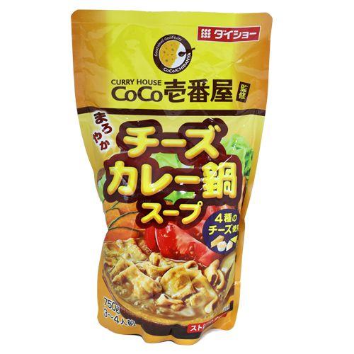 ダイショー CoCo壱番屋 チーズカレー鍋スープ 750g