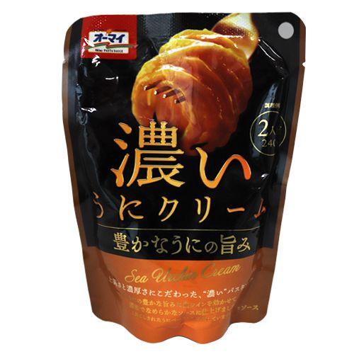 日本製粉 オーマイ 濃いうにクリーム 240g
