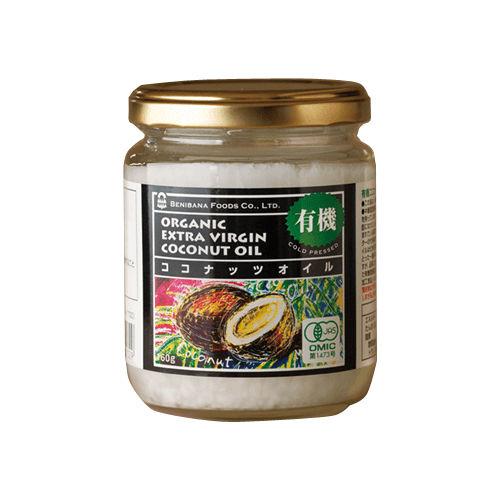 紅花食品 有機ココナッツオイル 160g