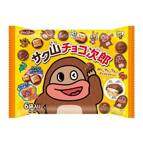 正栄デリシィ サク山チョコ次郎 6パック 102g