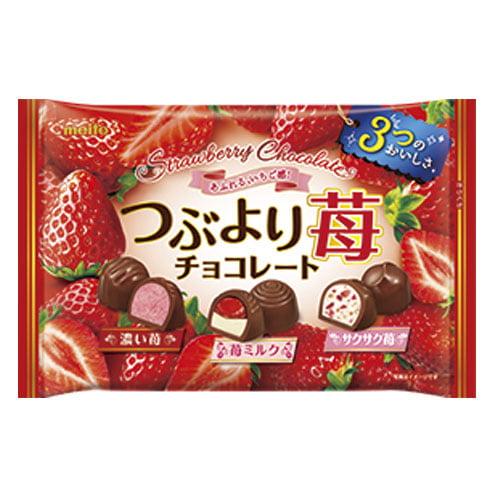 名糖 つぶより苺チョコレート 160g