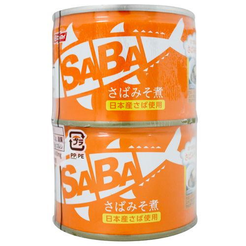 ニッスイ スルッとふた SABA さばみそ煮 150g×2缶パック