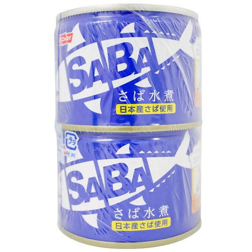 ニッスイ スルッとふた SABA さば水煮 150g×2缶パック