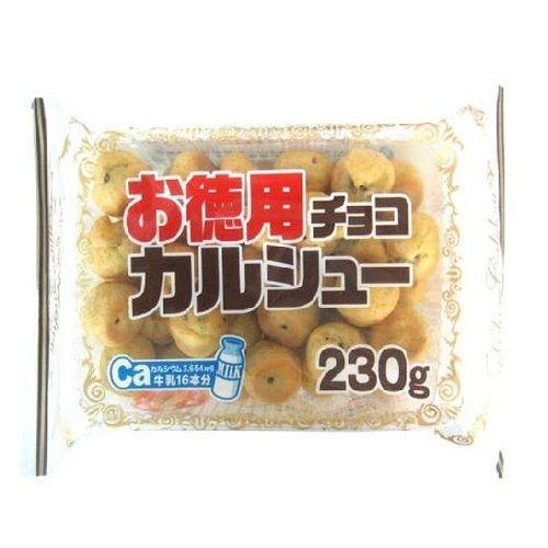【賞味期限:20.02.01】リスカ 徳用チョコシュー 230g