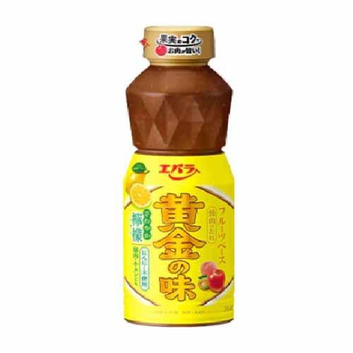 エバラ 黄金の味 さわやか檸檬 355g