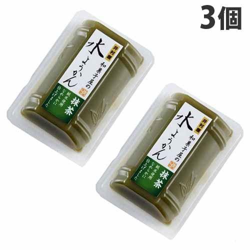 井村屋 和菓子屋の水ようかん 抹茶 83g×3個