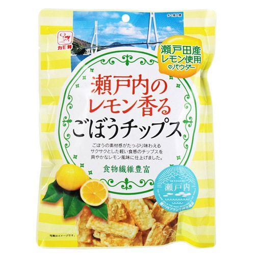 カモ井食品 瀬戸内のレモン香るごぼうチップス 60g