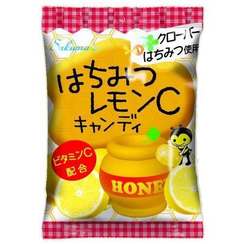 佐久間製菓 はちみつレモンCキャンディ 80g