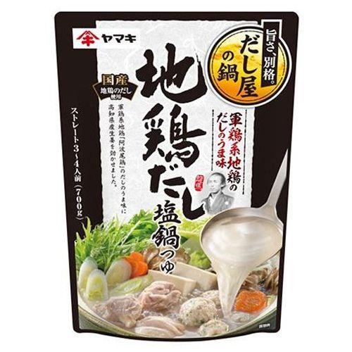 ヤマキ 地鶏だし塩鍋つゆ 700g