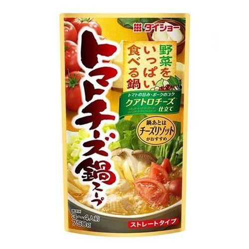 ダイショー 野菜をいっぱい食べる鍋 トマトチーズ鍋スープ 750g