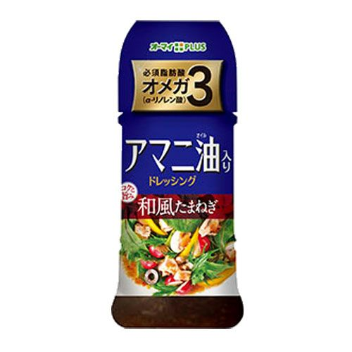 日本製粉 アマニ油入りドレッシング 和風たまねぎ 300ml