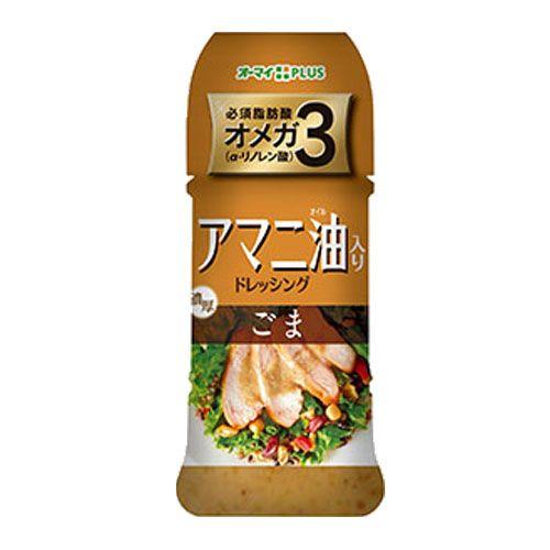 日本製粉 アマニ油入りドレッシング ごま 300ml