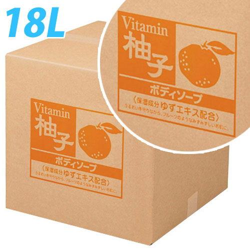熊野油脂 柚子 ボディソープ 詰替用 コック入り 18L