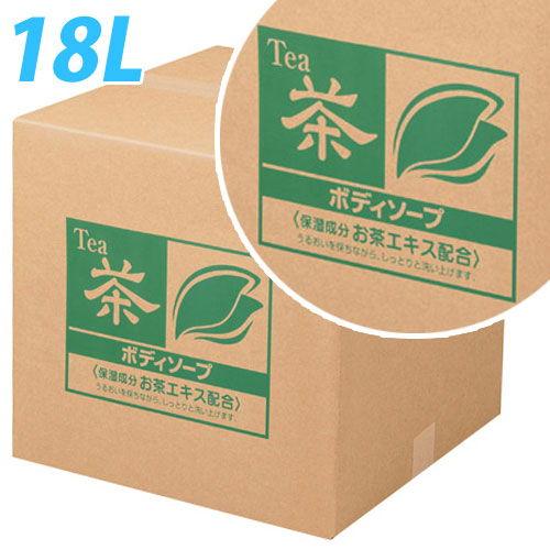 熊野油脂 お茶 ボディソープ 詰替用 コック入り 18L