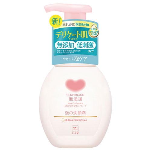 牛乳石鹸 カウブランド無添加 泡の洗顔料 ポンプ付き 200ml
