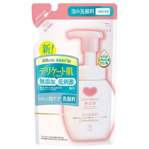牛乳石鹸 カウブランド無添加 泡の洗顔料 詰替用 180ml