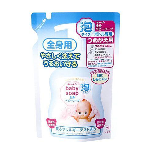 牛乳石鹸 キューピーベビーシリーズ 全身ベビーソープ 泡タイプ 詰替用 350ml