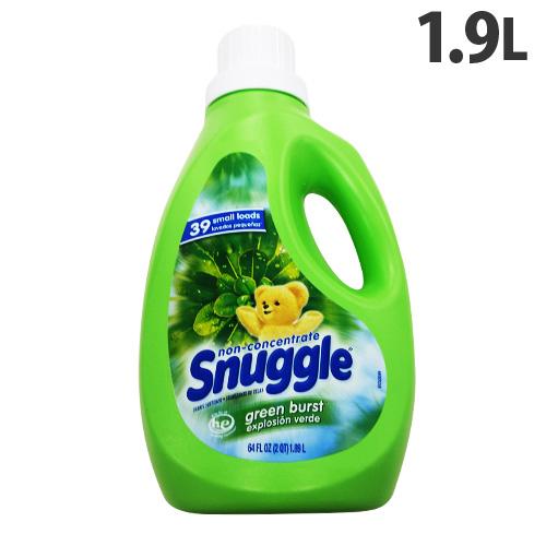ヘンケル 衣類用洗剤 Snuggle(スナッグル) 非濃縮 グリーンバースト 1900ml