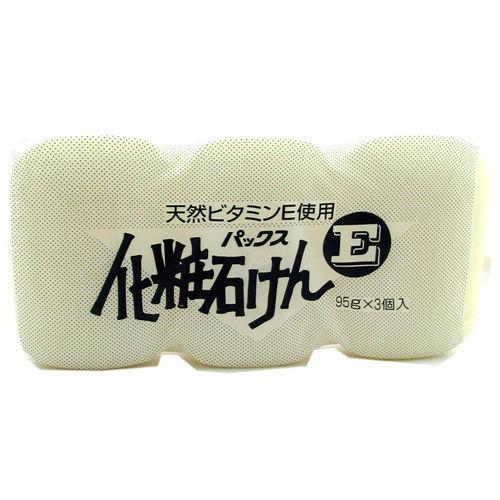 太陽油脂 固形石けん 化粧石けんE 95g 3個入