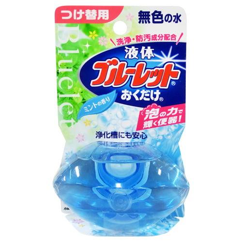 小林製薬 トイレ洗浄剤 ブルーレット 液体ブルーレット おくだけ ミント つけ替用 70ml
