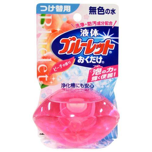 小林製薬 トイレ洗浄剤 ブルーレット 液体ブルーレット おくだけ ピーチ つけ替用 70ml