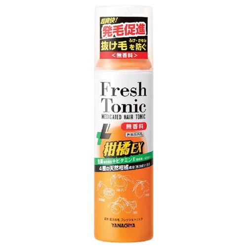 柳屋本店 ヘアトニック 薬用育毛フレッシュトニック柑橘EX 190g【医薬部外品】