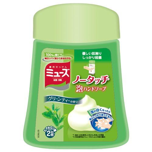 レキットベンキーザー・ジャパン ミューズ ノータッチ泡ハンドソープ グリーンティーの香り ボトル