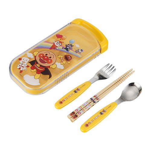 【売り切り御免】レック 子供用食器 アンパンマン スライド3点セット アンパンマン