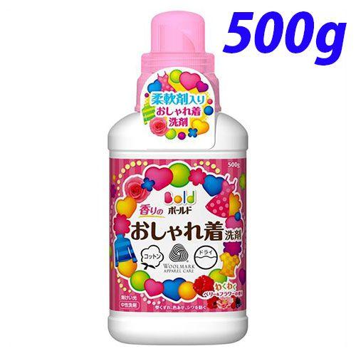 P&G 洗濯洗剤 ボールド 香りのおしゃれ着洗剤 本体 500g