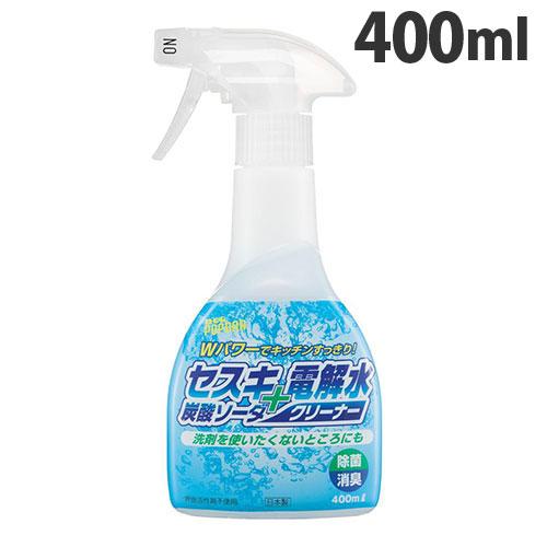 リアルメイト 住居用多目的洗剤 セスキ 炭酸ソーダ+電解水クリーナー 400ml