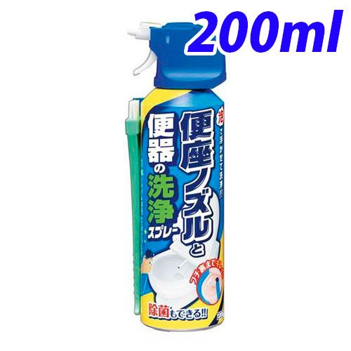 アース製薬 らくハピ 便座ノズルと便器の洗浄スプレー 200ml