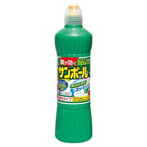 大日本除虫菊 トイレ用洗剤 サンポール 500ml