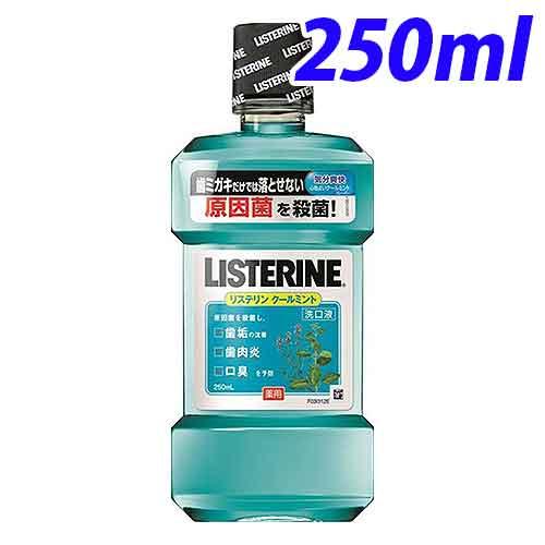 ジョンソン&ジョンソン 洗口液 リステリン 薬用リステリン クールミント 250ml【医薬部外品】