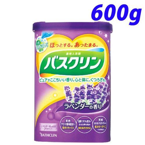 バスクリン 入浴剤 バスクリン ラベンダーの香り 600g【医薬部外品】